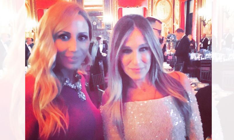 ¿Qué hacen juntas Marta Sánchez y Sarah Jessica Parker?