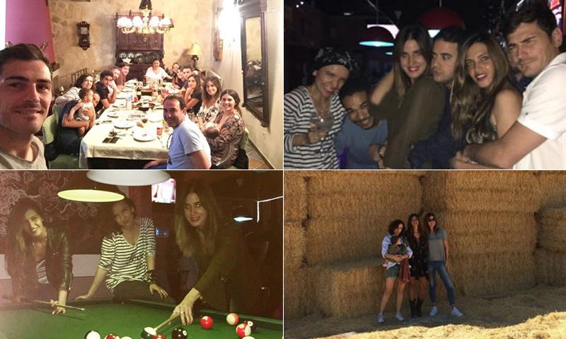 Sara Carbonero y su fin de semana en La Mancha rodeada de amigos