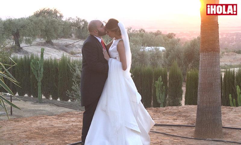 El intercambio de anillos, el primer beso como casados... Kiko e Irene sellan su amor