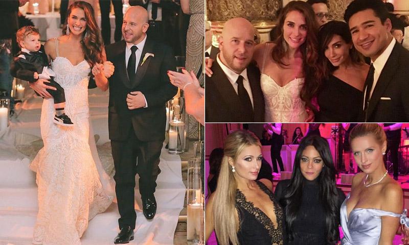 La 'boda del año' en Manhattan para uno de los gurús de las noches en la Gran Manzana