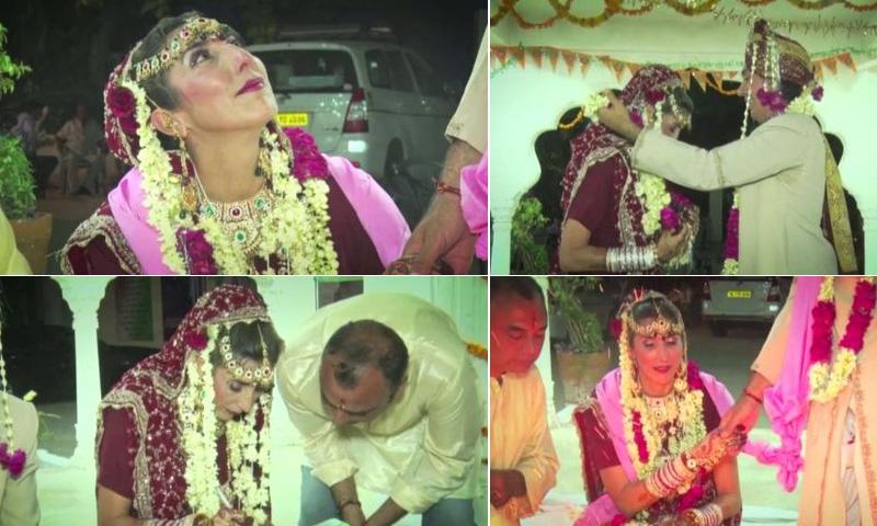 Paz Padilla recuerda cómo fue su primera boda en India