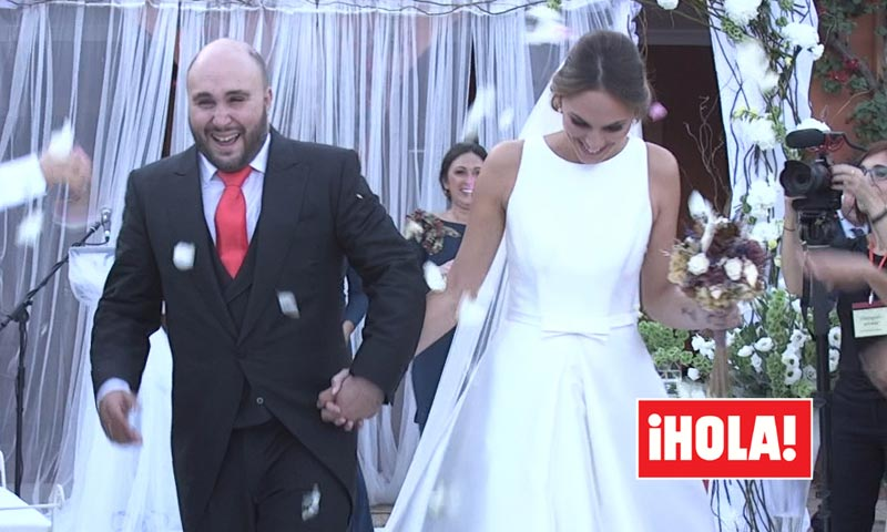 Kiko Rivera and Irene Rosales tied the knot on Friday, 7th October 2016