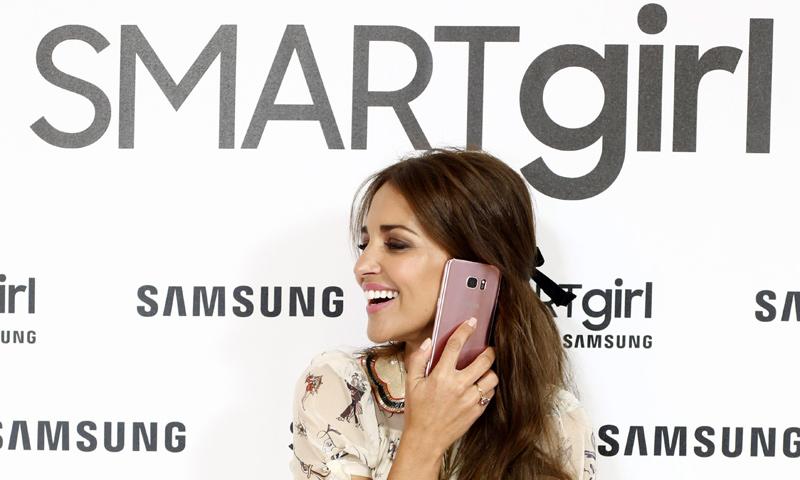 Samsung lanza la campaña SMARTgirl by Samsung protagonizada por Paula Echevarría