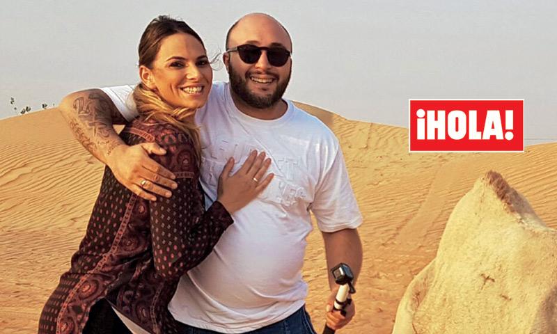 Exclusiva en ¡HOLA!: Anochecer en el desierto, una cena en el hotel más lujoso del mundo... el exótico viaje de novios de Kiko Rivera e Irene Rosales