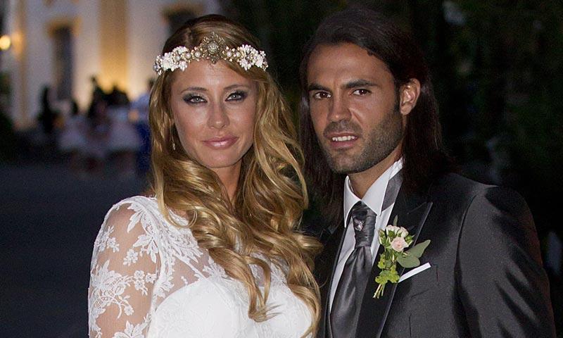 La modelo Elisabeth Reyes y su marido Sergio Sánchez, encantados con su próxima paternidad