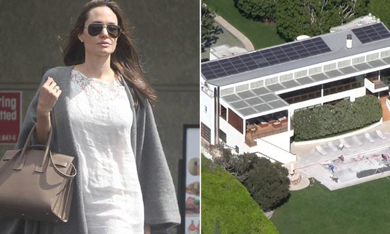 Descubre la nueva residencia de Angelina Jolie