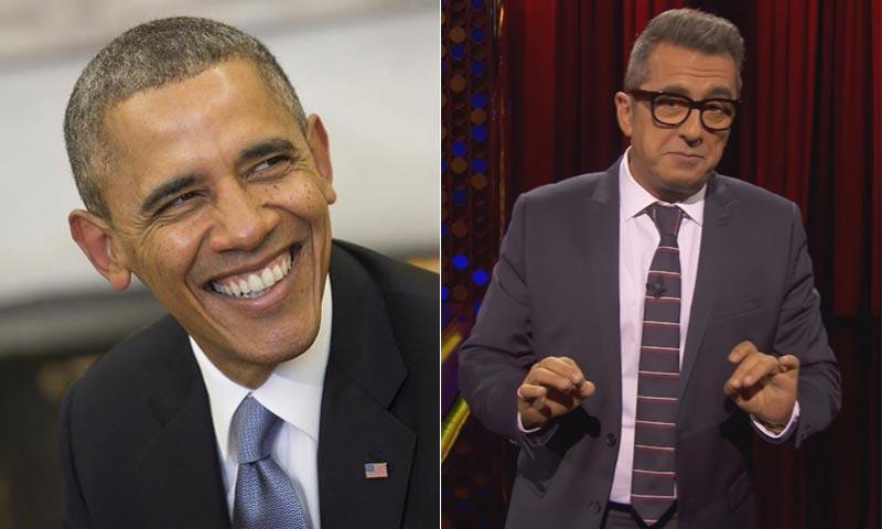 Yes you can! Andreu Buenafuente recibe una carta de Barack Obama