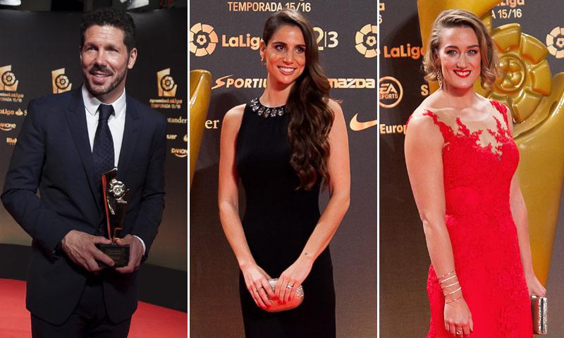 FOTOGALERÍA: Así vivieron la gala del deporte Diego Pablo Simeone, Lucía Villalón, Mireia Belmonte...
