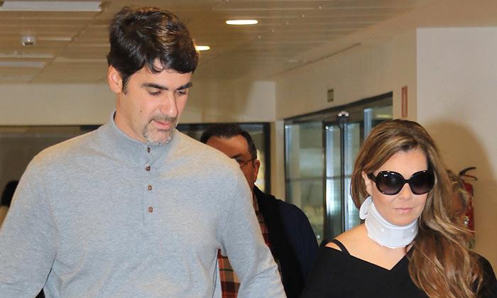 María José Campanario, ingresada de nuevo por su hernia