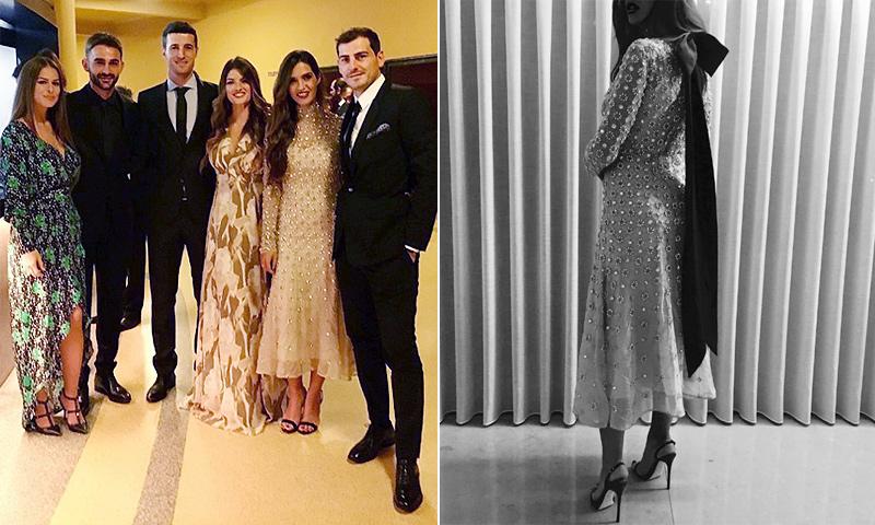 Sara Carbonero y el vestido de 7.450 euros del que todo el mundo habla