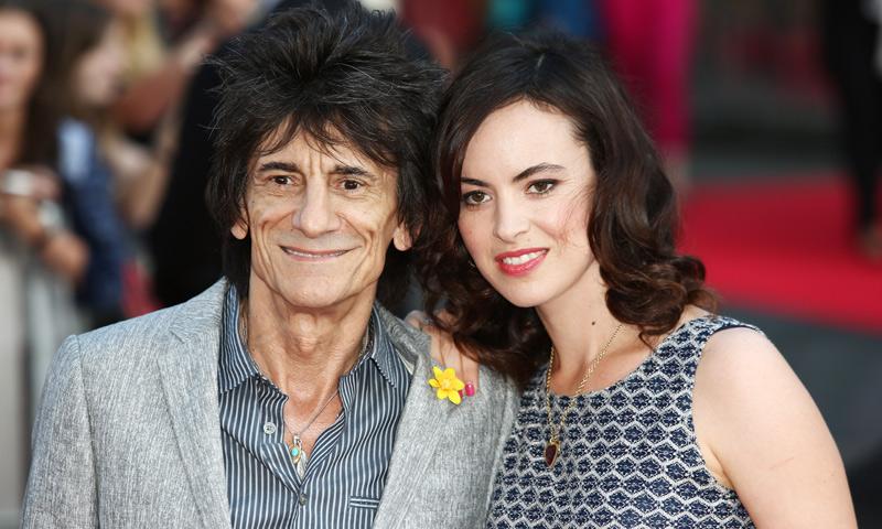 Ronnie Wood, ¿cómo se vive la paternidad a los 69 años?