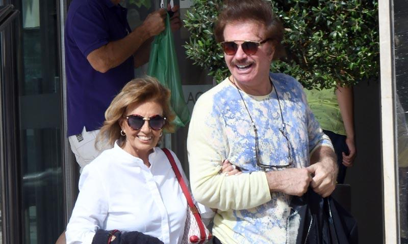 María Teresa Campos y Edmundo, su 'suite' con vistas al mar en Málaga