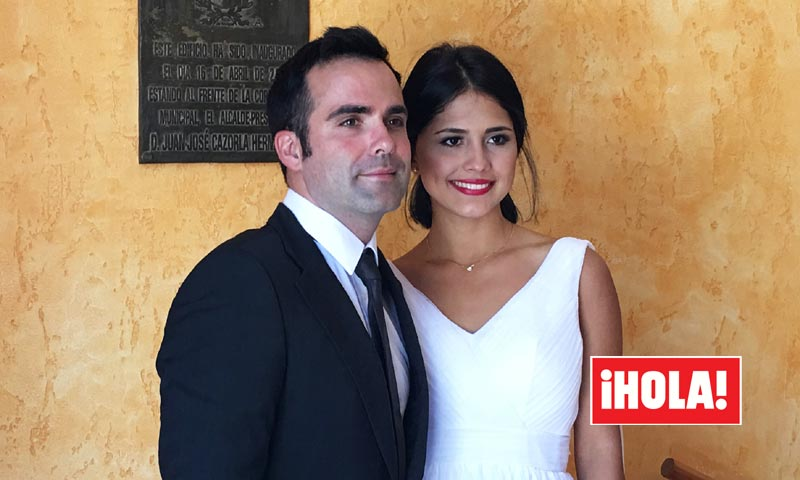 Las imágenes de la boda de Naím Thomas, ensombrecida por una triste noticia
