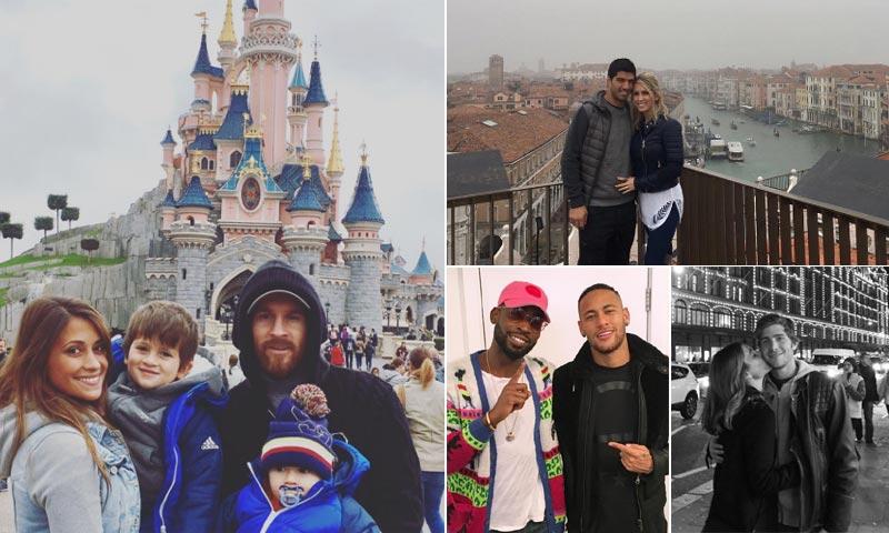 ¡Venecia, París y Londres! Los jugadores del Barça de tour por Europa