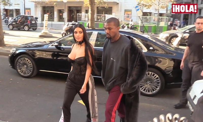 Kim Kardashian reaparece tras el susto vivido en París