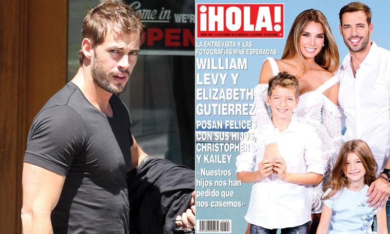Galán de telenovela, hombre de acción, familiar, enamorado… ¡Todo sobre William Levy!