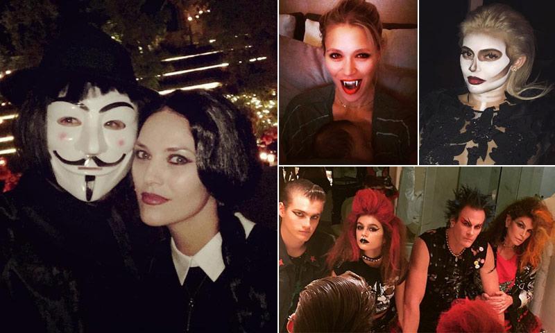 Pesadilla antes de... ¡Halloween! Las 'celebrities' se adelantan a la noche más terrorífica