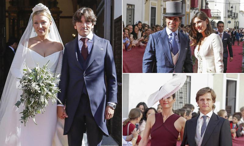 Francisco Rivera y Lourdes Montes acuden a la boda taurina del rejoneador Diego Ventura