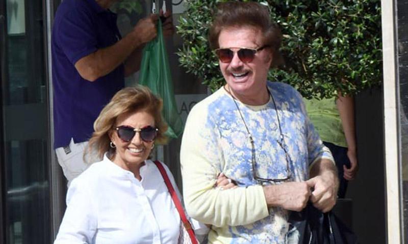 María Teresa Campos y Edmundo Arrocet reaparecen en televisión tras los rumores de crisis
