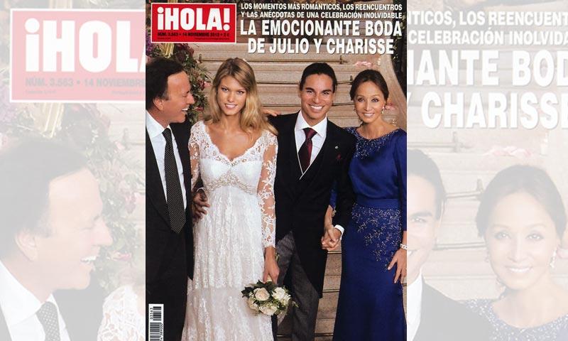 Julio Iglesias Jr. y Charisse celebran su cuarto aniversario: así fue su romántica boda