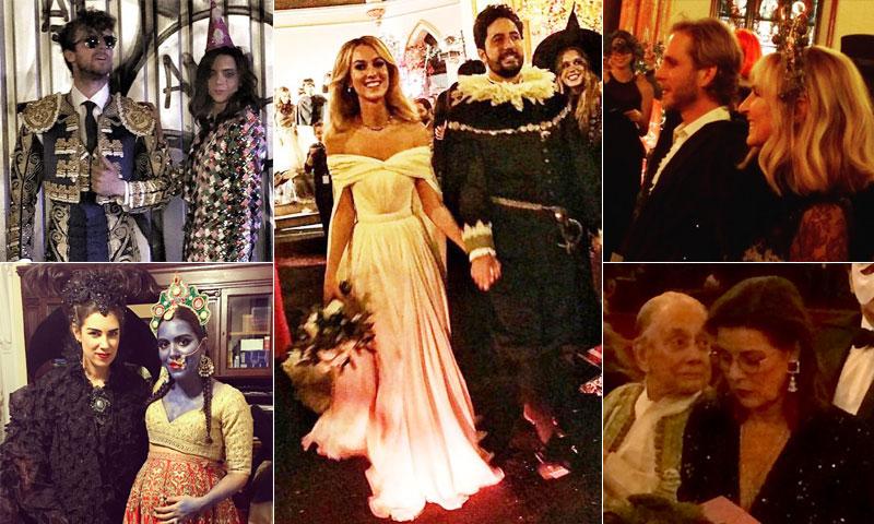 ¿Una fiesta de Halloween? ¡No! Es la segunda boda del hermano de Tatiana Santo Domingo