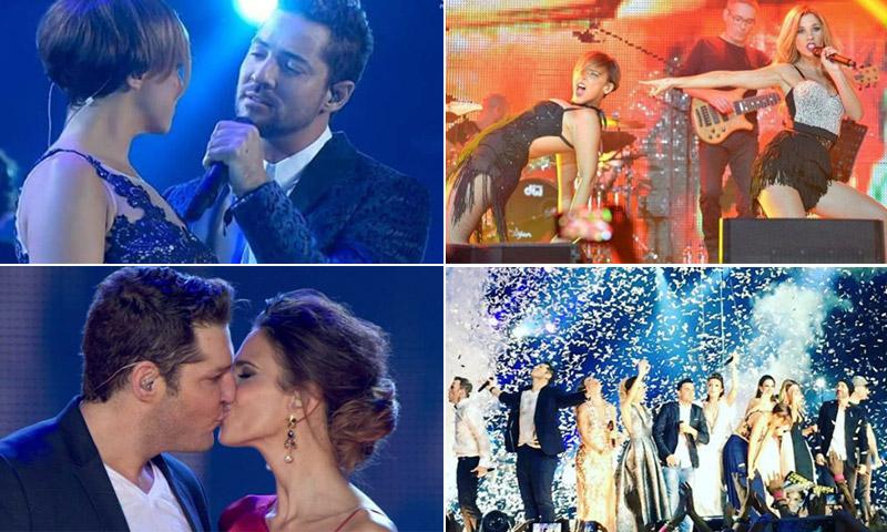 Los momentos más emotivos del concierto 'OT: El Reencuentro'