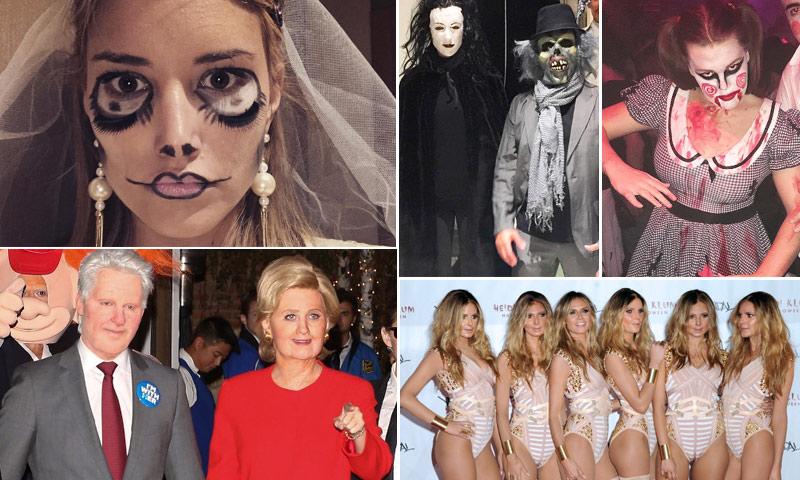 FOTOGALERÍA: ¡Esto es Halloween! ¿Reconoces a las 'celebrities' que se esconden tras estos disfraces?