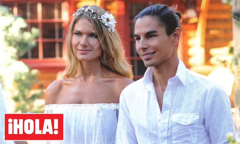 En exclusiva en ¡HOLA!: Julio y Charisse, romántica boda en el lago Tahoe