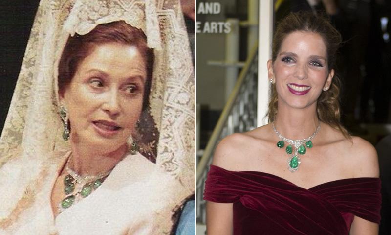 El valioso collar de la abuela de Luis Alfonso de Borbón que ha vuelto a llevar Margarita Vargas