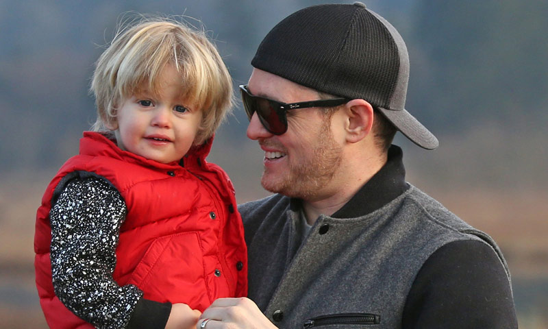 Michael Bublé y Luisana Lopilato confirman la enfermedad que sufre su hijo Noah de tres años