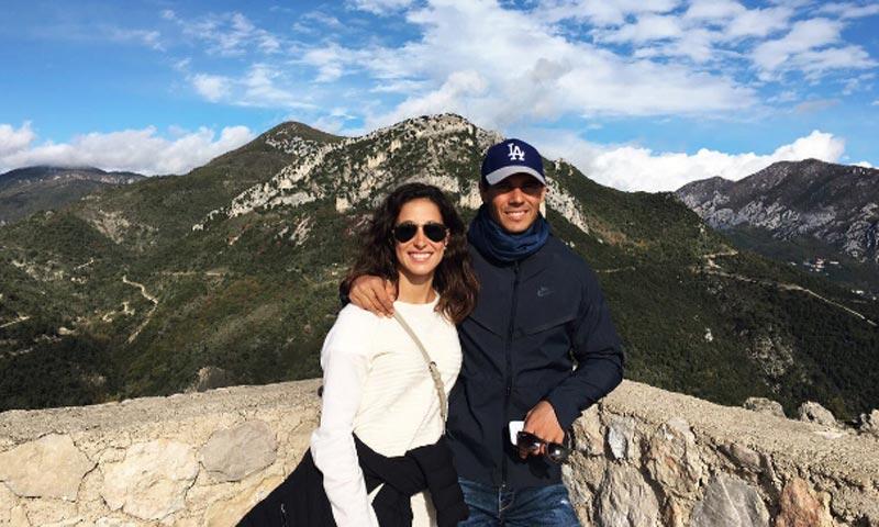 El paraíso y su novia Xisca... la mejor 'medicina' de Rafa Nadal