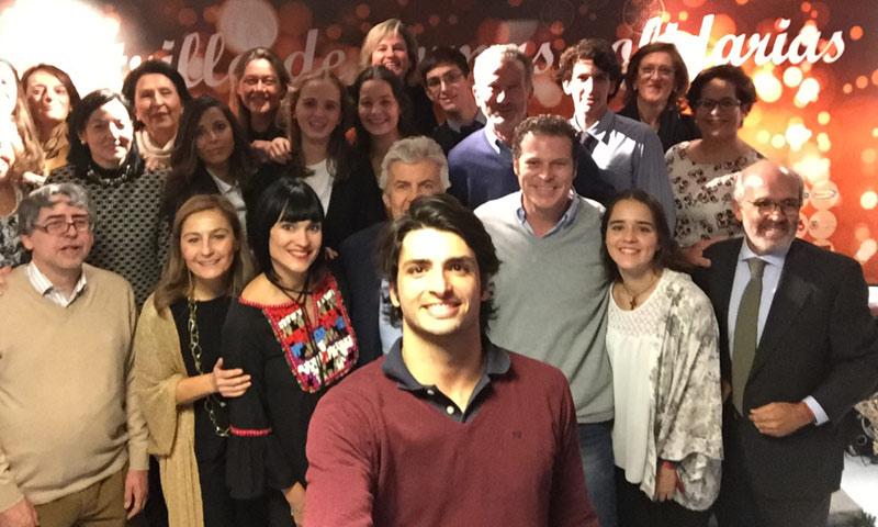 Carlos Sainz Jr., presentado como embajador del Rastrillo de Firmas Solidarias para 'poner a los niños una sonrisa en la cara'
