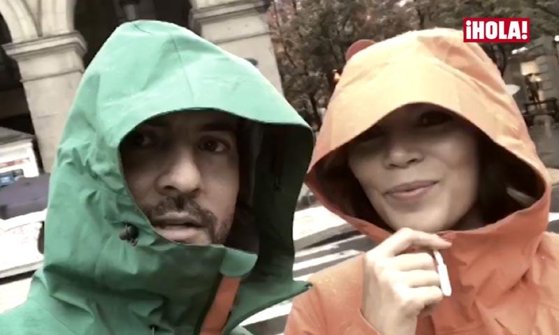 En vídeo: la escapada mágica de David Bisbal y Rosanna Zanetti tras la polémica sobre el 'no beso'