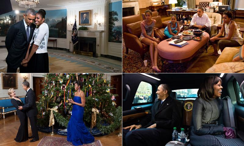 Abrimos el álbum más personal de Barack y Michelle Obama en la Casa Blanca