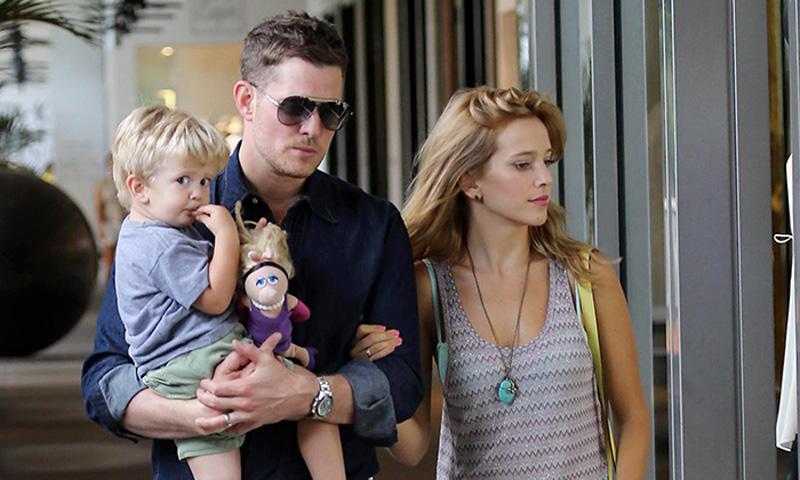 El hijo de Michael Bublé recibe tratamiento contra su enfermedad en una clínica de Los Ángeles