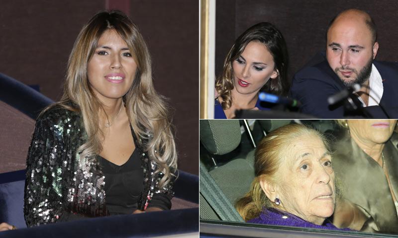 Isabel Pantoja, arropada por su familia en su reaparición