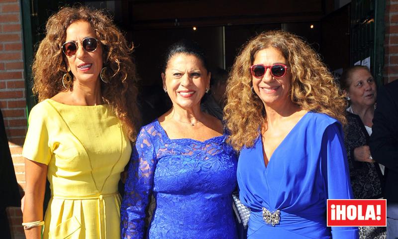 Lolita y Rosario Flores, inesperado reencuentro con su tía Carmen