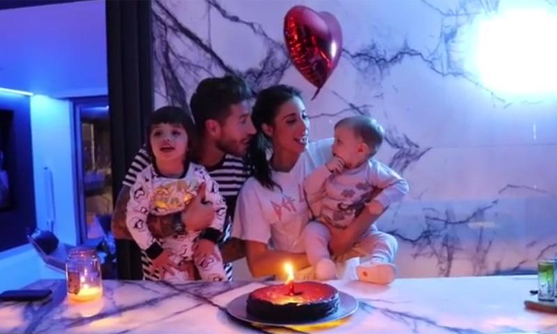 Pilar Rubio y Sergio Ramos celebran el primer cumpleaños de su hijo Marco