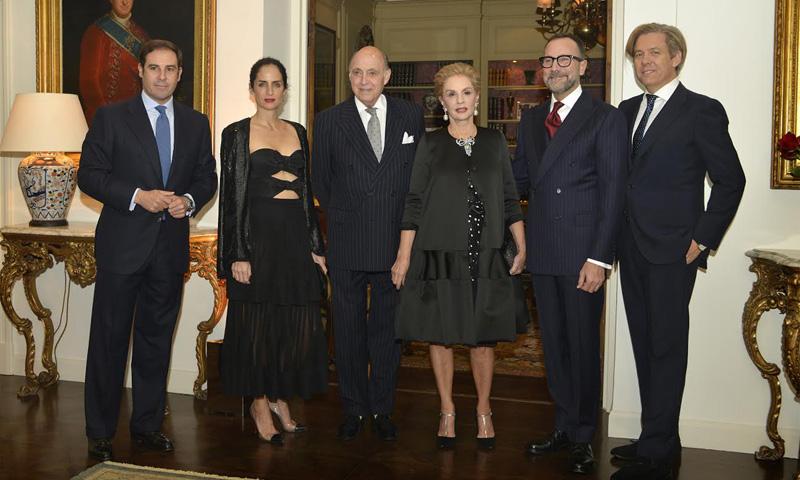 La gran fiesta del embajador James Costos para homenajear a Carolina Herrera