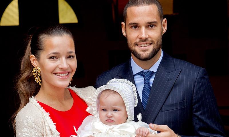 Malena Costa y Mario Suárez bautizan a su hija Matilda