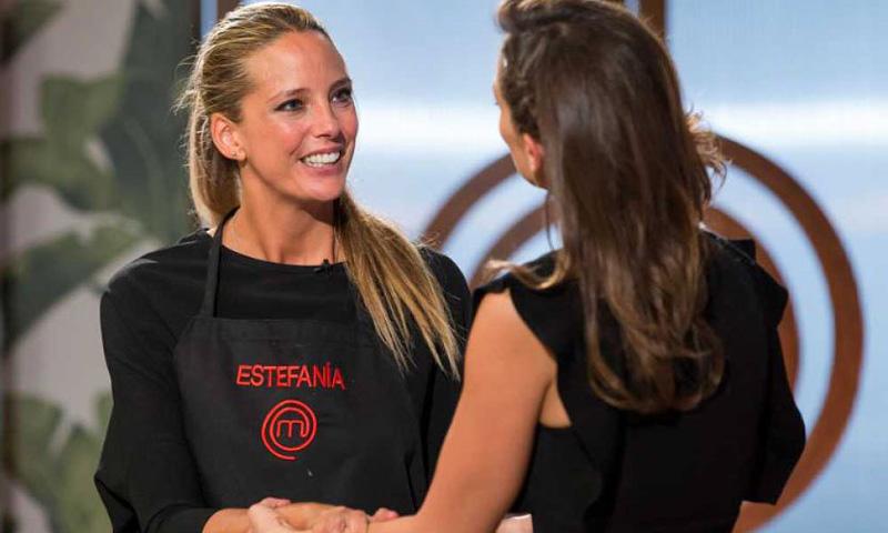 El fugaz paso de Estefanía Luyk por las cocinas de 'MasterChef Celebrity'