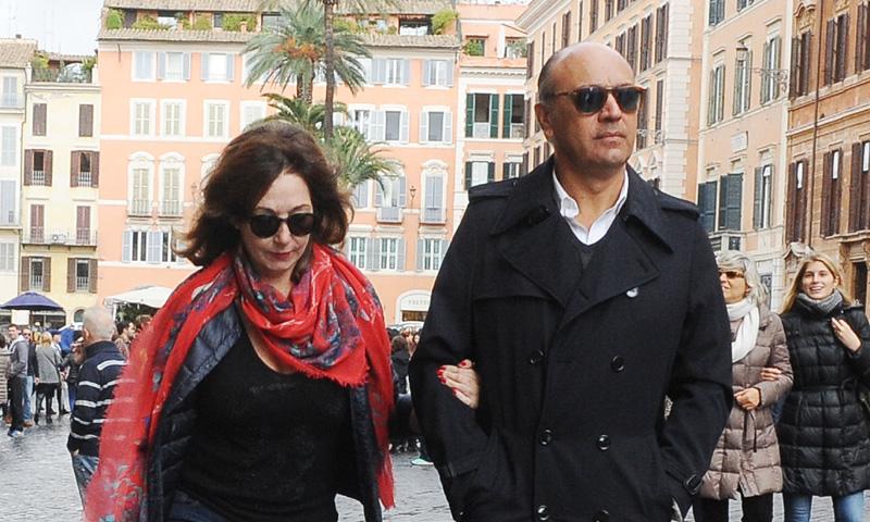 Ana Rosa Quintana y su romántico paseo por Roma con Juan Muñoz