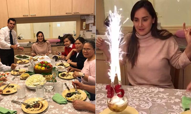 Espontánea y divertida, Tamara Falcó muestra cómo celebra sus 35 años