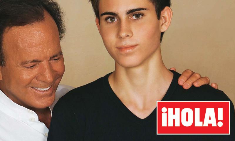 Miguel, el hijo mayor de Julio Iglesias y Miranda, no se ha ido de casa