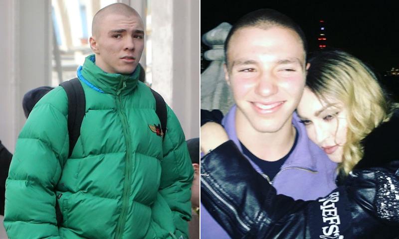 Rocco, hijo de Madonna, detenido en Londres