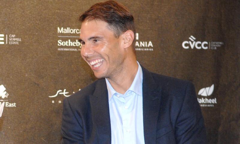 Rafa Nadal reaparece con su nueva imagen