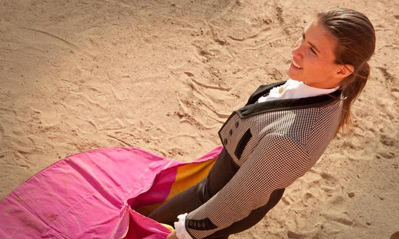 La torera Conchi Ríos, única española en la lista de mujeres influyentes de la BBC