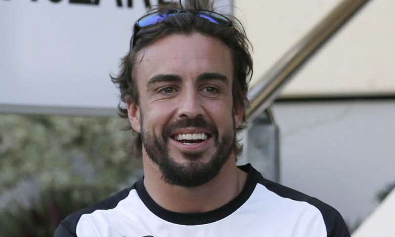 Fernando Alonso y su razón para sonreír