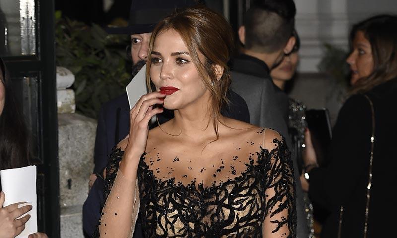 Rosanna Zanetti, novia de Bisbal, primera cita social en solitario mientras el artista está de promoción
