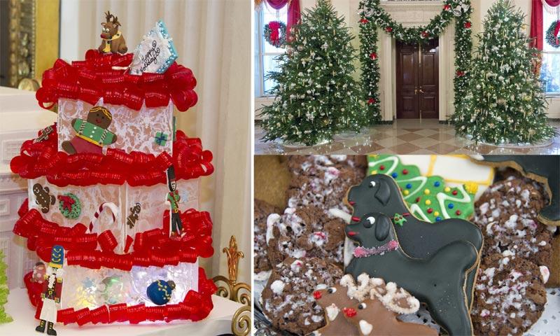 ¡La Navidad ha llegado a la Casa Blanca! Así es la última decoración de los Obama